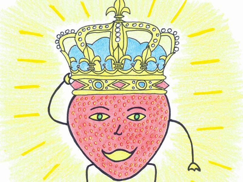Truskawki król